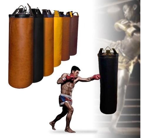 Puching Ball Pushing Bag Saco De Boxeo  Cuero 1,10 Mts