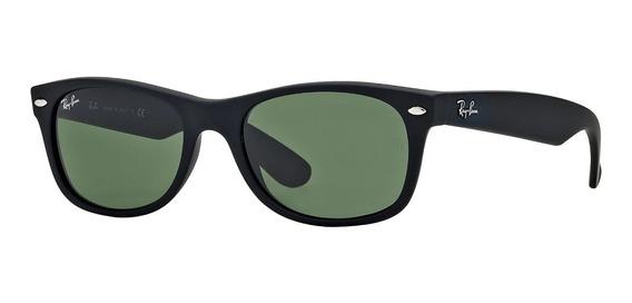Lentes Ray-ban 0rb2132 New Wayfarer Negro Verde