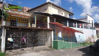 Casa Com Três Quartos, Escada, Salvador. - Ca0094