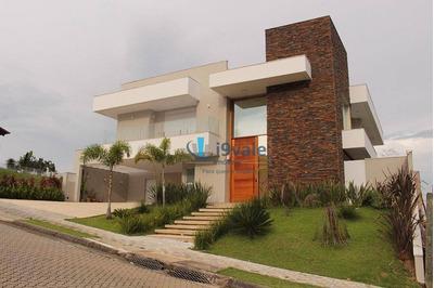 Casa À Venda, 500 M² Condomínio Reserva Do Paratehy Urbanova - São José Dos Campos/sp - Ca1272
