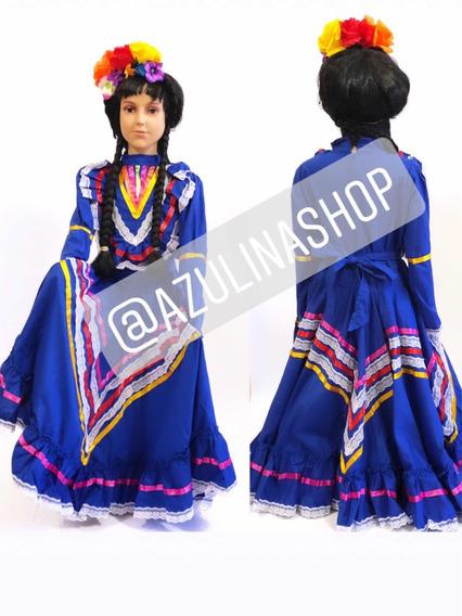 Vestido Regional Jalisco Para Niña