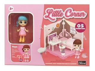 Little Corner 05 Muñeca Coleccionable Playset C/acc. Shine