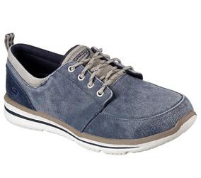 Tenis Skechers Doren Alw Sapato Jeans Masculino Frete Grátis