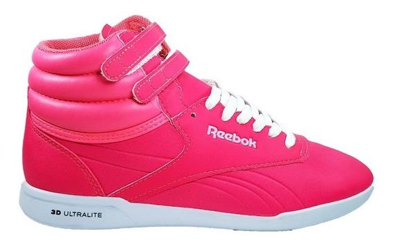 Reebok Zapatillas Mujer Frestyle Ultralite Rosa / Fluor