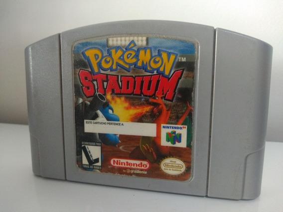 Jogo Pokémon Stadium Nintendo 64
