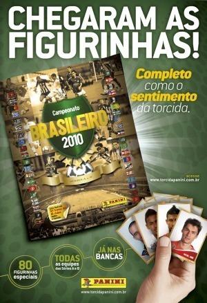 400 Figurinhas Campeonato Brasileiro 2010 Comuns E Prateadas