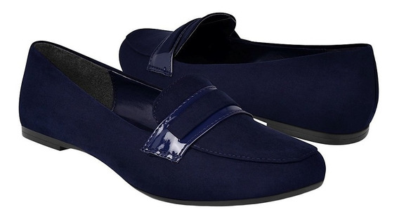 Zapatos Stylo 1909 Suede Marino