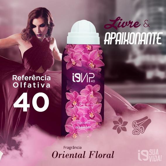 I9 Vip 40 (euphoria - Ref. Olfativa) 100ml Feminino