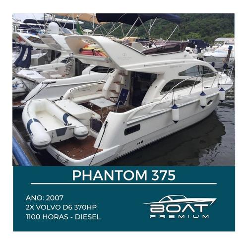 Phantom 375, 2007, 2x Volvo D6 370hp - Triton - Sea Ray
