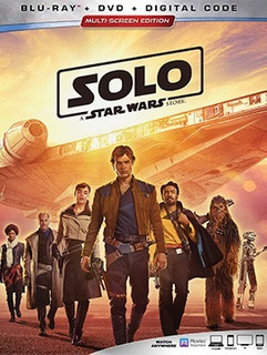 Solo: A Star Wars Story (blu-ray + Dvd + Digital Copy)