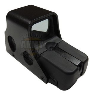 Red Dot 551 Preto Mira Holográfica Airsoft