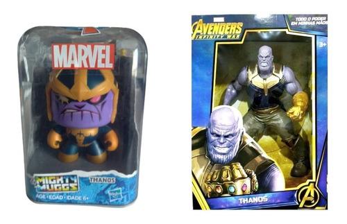Combo Vingadores Avangers Compre 1 Leve 2 Dois Figura Thanos