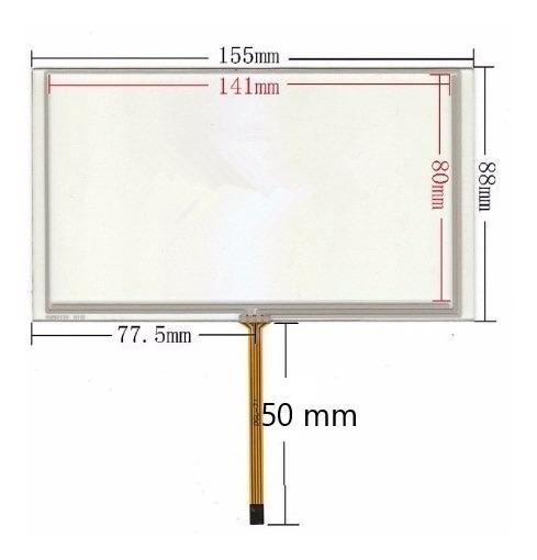 Tela Touch Screen 6.2 Polegadas Multimidia M1 Caska Buster