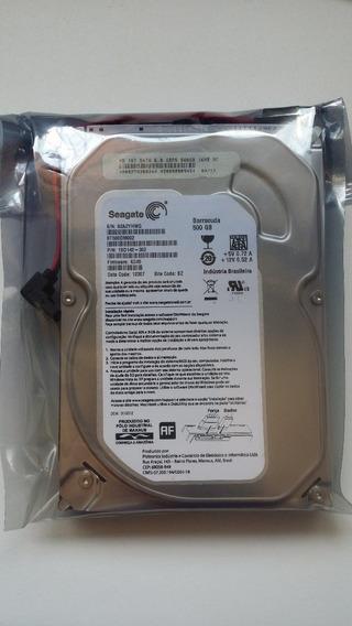 Hds Seagate 500gb Sata Dvr Desktop Barracuda
