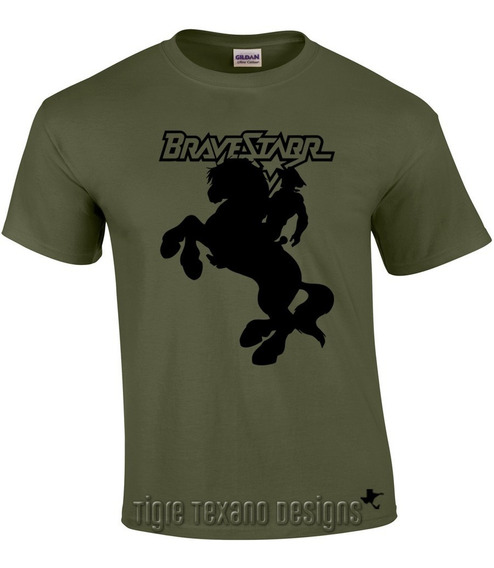 Playera Dibujos Animados Bravestar By Tigre Texano Designs
