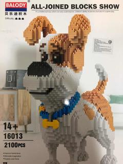 Kit Construcción Nanoblocks Dog 2100piezas + Envio Gratis