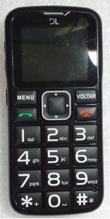 Celular Dl Yc120 Dual Chip Rádio Fm Sos Sem Uso+sd4gb