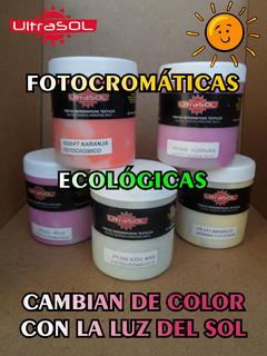 Tintas Fotocromáticas Serigrafía Textil Ultrasol Cuartos