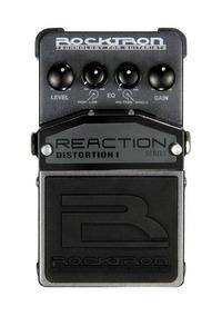 Pedal De Efeitos Rocktron Reaction Distortion Para Guitarra