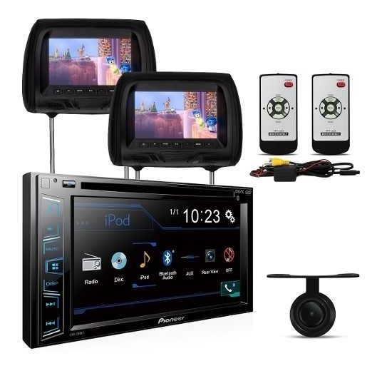 Central Multimidia Dvd Pioneer Tv Digital + Encosto + Camera