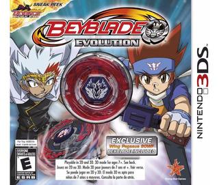 Beyblade Evolution Nintendo 3ds Edicion De Lujo Envio Gratis