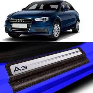 Soleira Da Porta Audi A3 Resinada Com Black Over