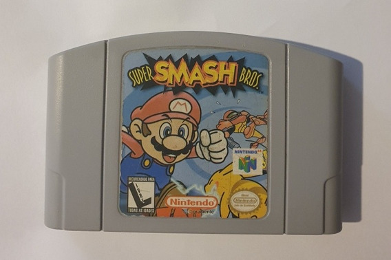 Fita Cartucho Super Smash Bros 64 N64 Original Nintendo
