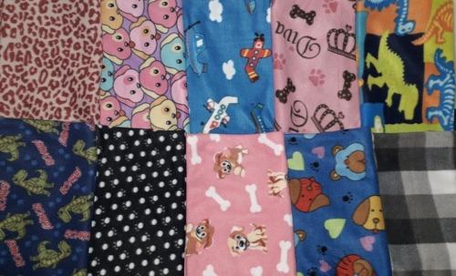 Kit 10 Mantas Soft Cobertor Cachorro E Gato Pet