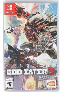 God Eater 3 Nintendo Switch Nuevo Sellado Delivery Stock Ya
