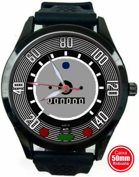 Relógio De Pulso Personalizado Painel Velocímetro Fusca 14