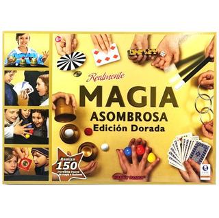Juego De Magia Asombrosa Edición Dorada 150 Trucos