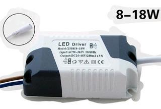 Foco Led Driver 8w - 18w Dc 24-72v 280ma Transformador