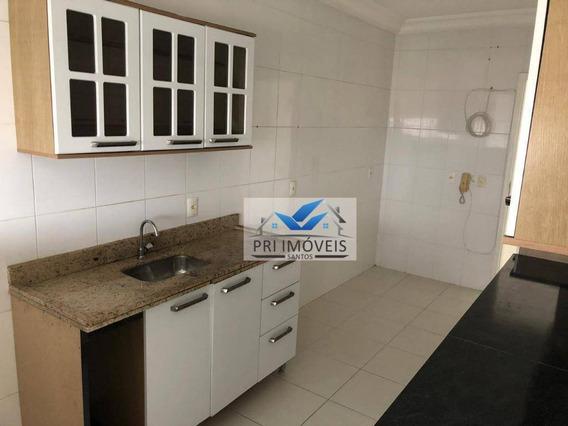 Apartamento À Venda, 113 M² Por R$ 655.000,00 - Ponta Da Praia - Santos/sp - Ap1135