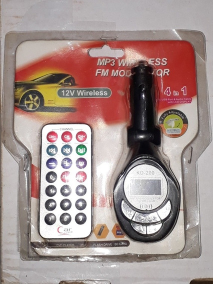 Mp3 Wireless Para Carro