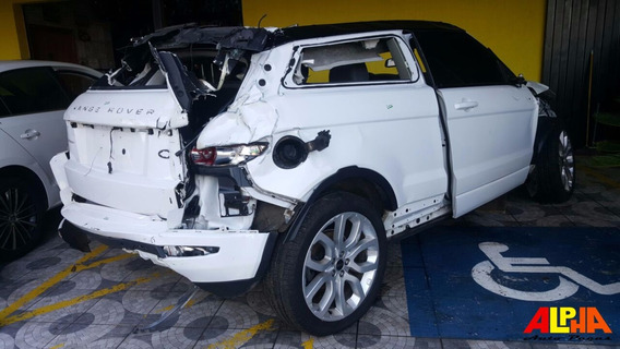 Sucata Range Rover Evoque Dynamic 3d 2.0 16v 2012 Gasolina