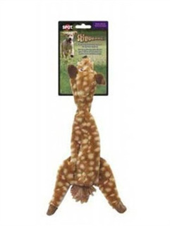 Ethical 5702 Skinneeez Spotted Deer Stuffing-less Dog Toy, 1