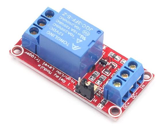 Modulo Rele 1 Canal 12v Opto Isolado Arduino Pic Raspberry