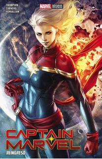 Captain Marvel: Reingreso Nuevo Sellado!!!