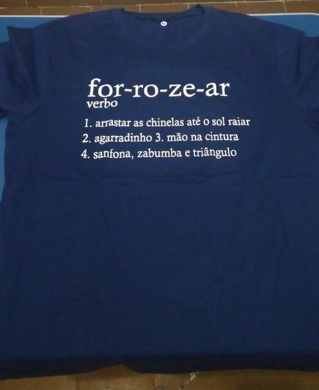 Camiseta Forró 100% Algodão - Masculina