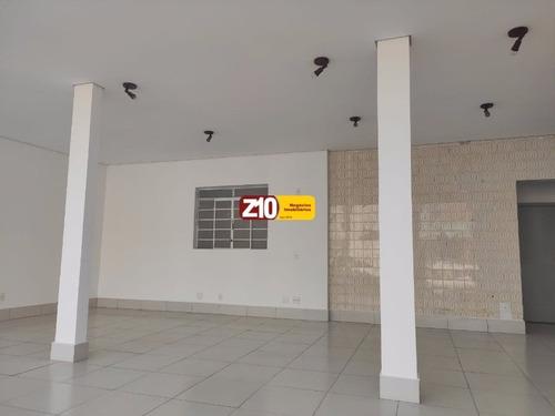 Sl01016 - Salão Comercial Para Locação - At 200m² Ac 180m²  Salão Amplo, 02 Banheiros Sendo 01 Wc Pne, 2 Vagas Para Auto.r$ 4.300,00 - Sl01016 - 68496568