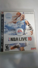 Ps3 Nba Live 10 Original Midia Física
