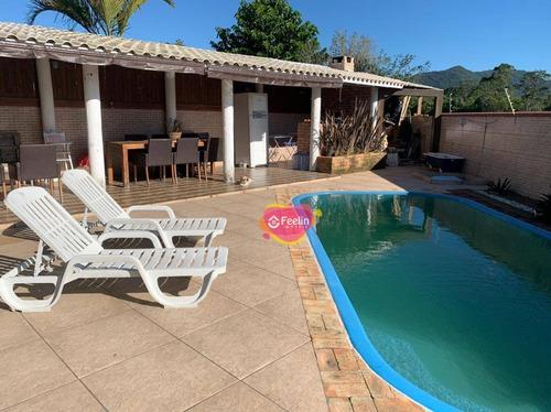 Imagem 1 de 30 de Casa Com 2 Dormitórios À Venda, 194 M² Por R$ 1.650.000,00 - Campeche - Florianópolis/sc - Sc - Ca0005_feelin