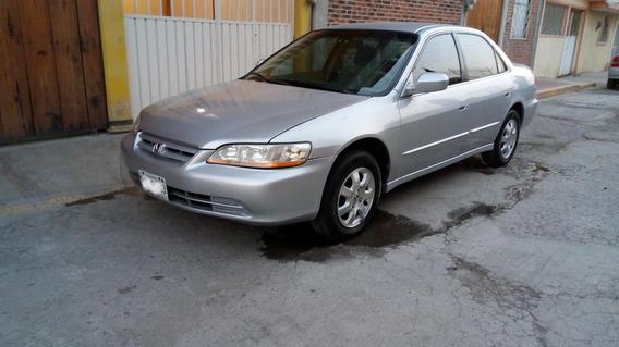 Honda Accord 2.4 Ex-r Sedan L4 Tela Abs Cd Mt 2002