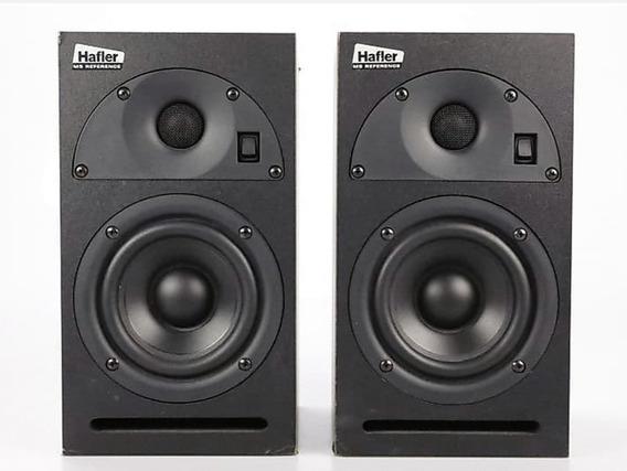 Monitores De Estudio Hafler M5 Pasivos+amplificador +stand