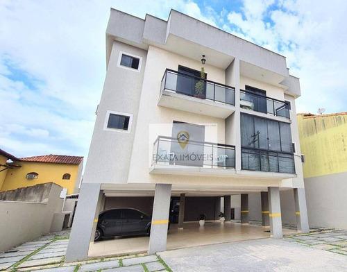 Apartamento A Poucos Metros Do Comércio E Escolas, Jardim Atlântico/marilea, Rio Das Ostras! - Ap0354