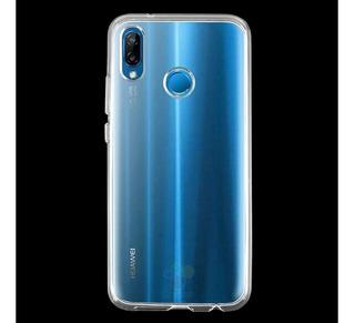 Forro Estuche + Vidrio Templado Huawei P20 Lite