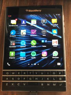 Blackberry Passport Camara 13mp Radio Whatsapp