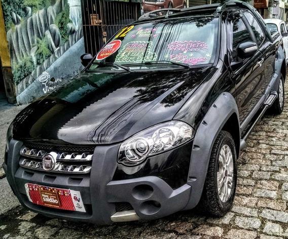 Fiat Strada Adventure Cabine Dupla 1.8 Ano 2012 Flex