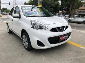 Nissan March 2017 Completo 1.0 Flex 34.000 Km Revisado Novo