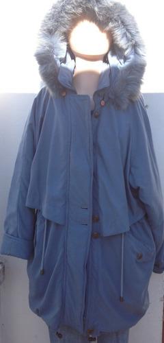 Campera Oversize Abrigo Tapado